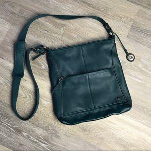 The Sak Crossbody Leather Shoulder Bag Dark Teal